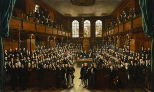 NPG 54; The House of Commons, 1833 by Sir George Hayter