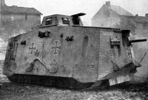 ww1 german tank