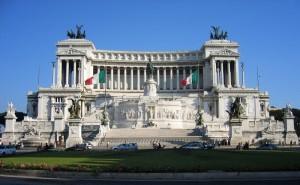 Monument in Rome to Vittorio Emanuel