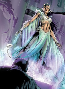 Earth 2's most powerful Atlantian, Queen Marella (Aquawoman)