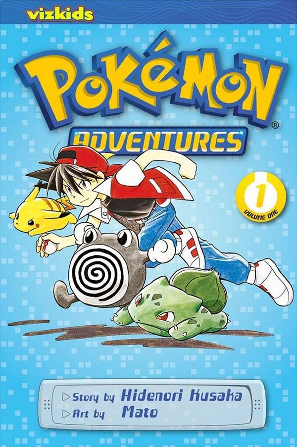 Gotta Read Them All: Pokemon Adventures – The Graphic Novel
