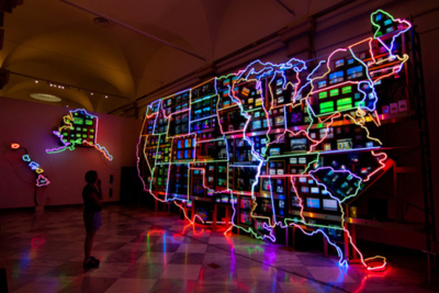 Nam June Paik Trashy Art Zone