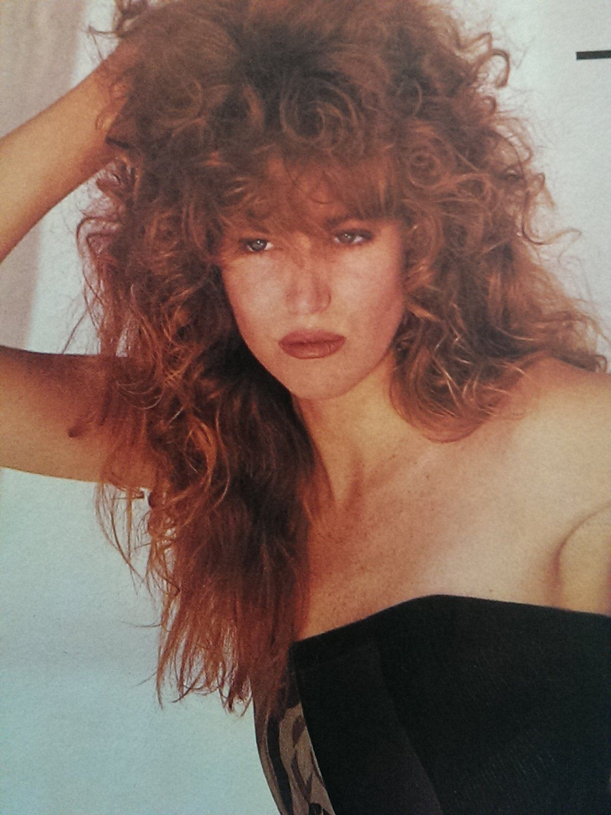 1984 Harpers Bazaar Womens Hair Makeup Sunday Hair And
