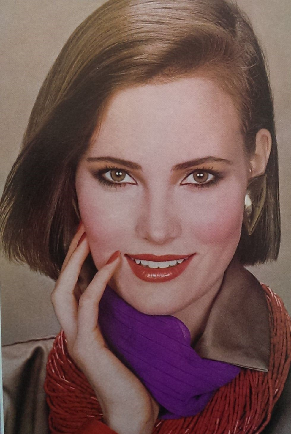 Vogue 1984 Men Amp Women S Makeup Hair Quot Sunday Quot Hair And