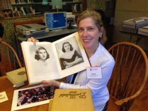 Janet McConnell Philips '77 donated four cherished Battlefield yearbooks that belonged to her mother, Barbara Ann Hough '48.