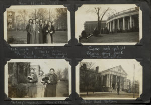 "Audrey was Class of 1940 from Hampton, VA and the Assistant Editor of the 1939 Battlefield. Check out Monroe Hall captioned, ""The Study Hard Building""."